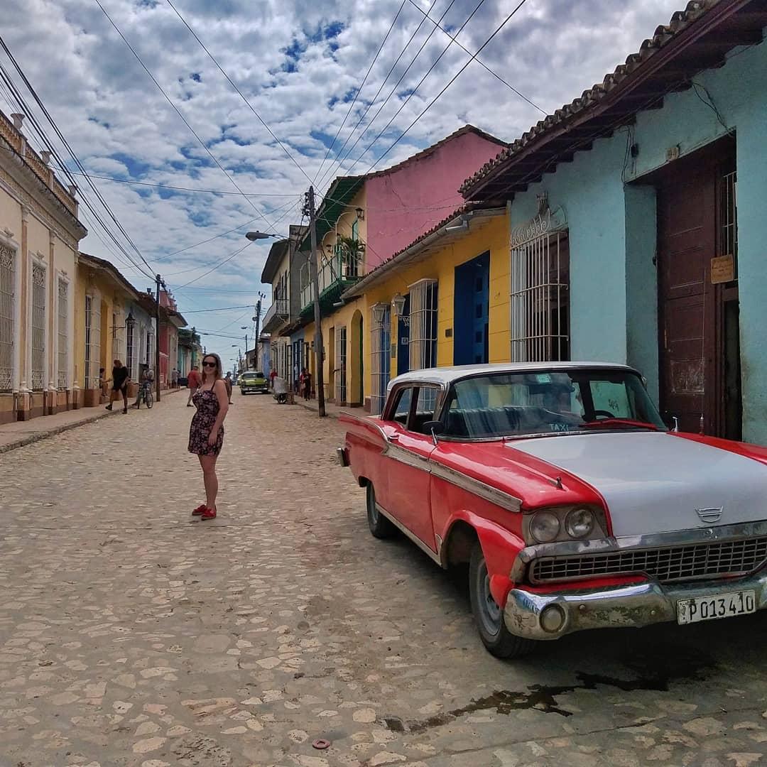 American car, Trinidad, Kuba