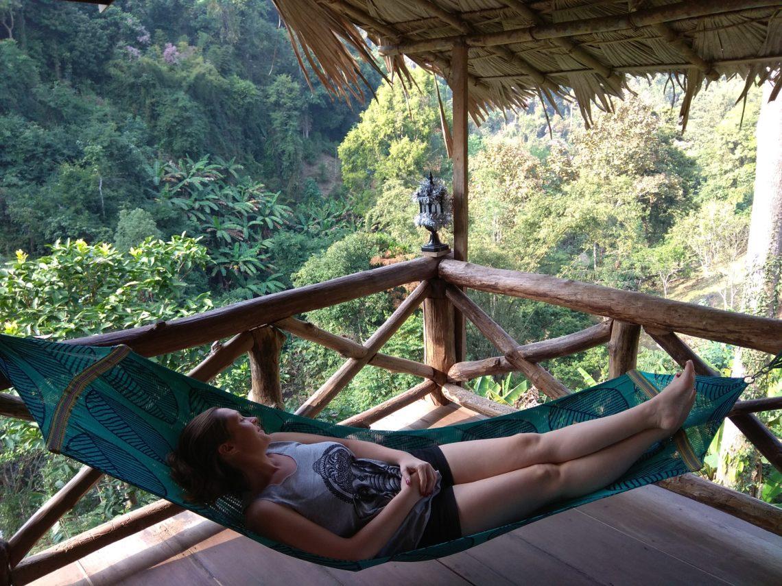 Odmor u kućici na drvetu, Chiang Mai, Tajland